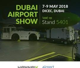 Hannaik na feira Dubai Airport Show
