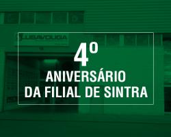 4º ANIVERSÁRIO DA FILIAL DE SINTRA